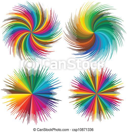 Color burst - csp10871336