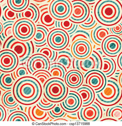 color circle pattern - csp13715988