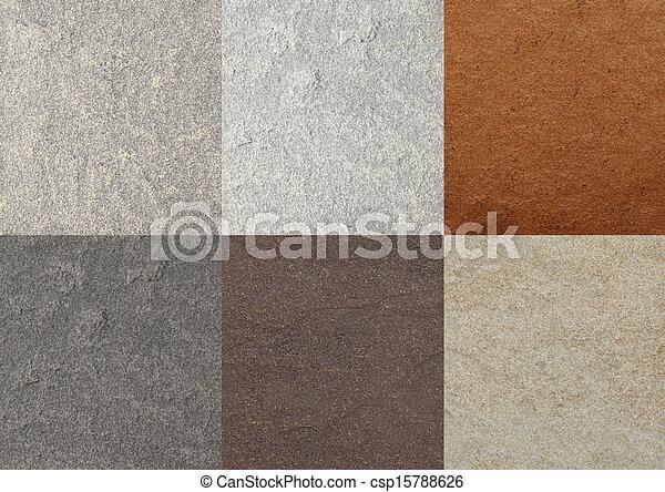 Color collage azulejos m rmol texturas - Colores de marmol ...