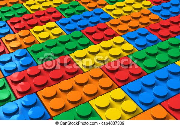 Bloques de color - csp4837309