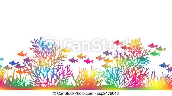 Color coral - csp2476043