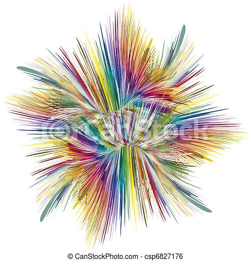 Color explosion - csp6827176