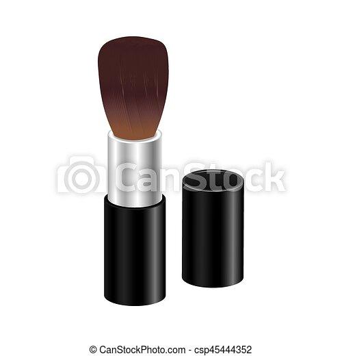 color face brush icon - csp45444352