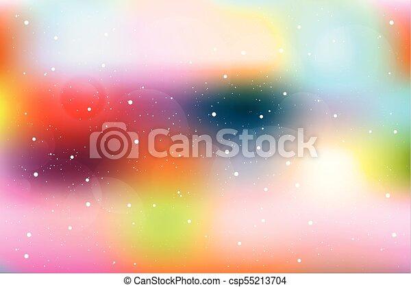 Color abstracto fondo borroso. - csp55213704