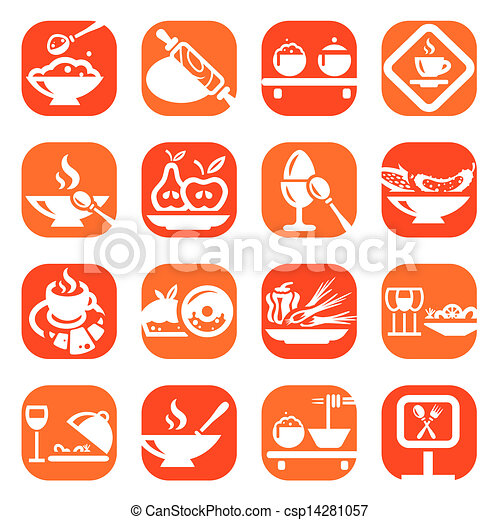 color food icons - csp14281057