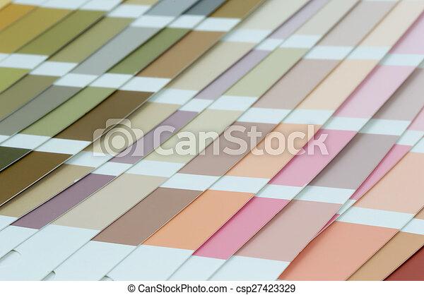 Color guide - csp27423329
