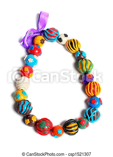 color hand made beads - csp1521307