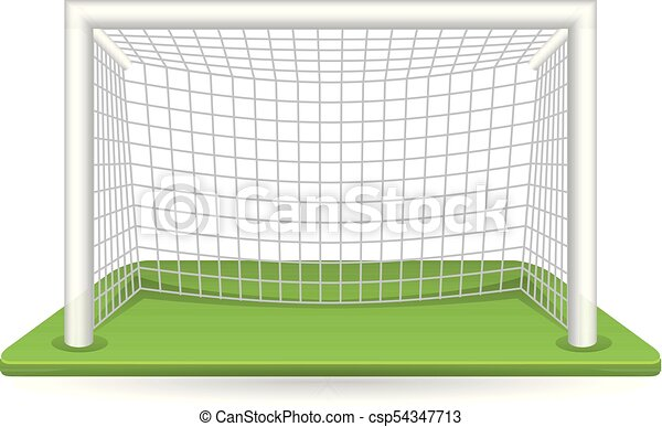color icon football goal post football goal post icon in rh canstockphoto com football goal post clipart field goal post clipart