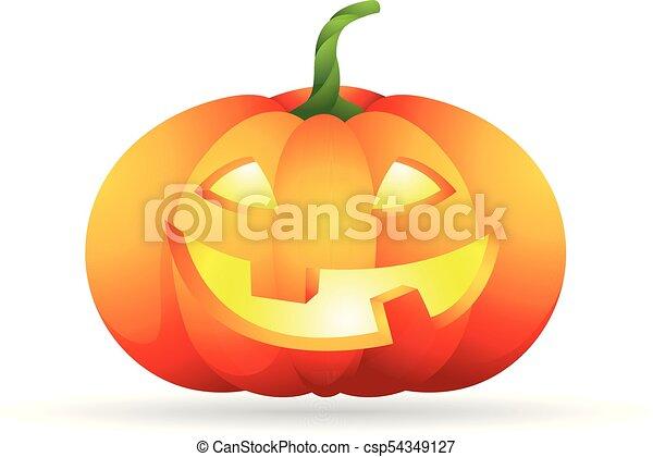 Color Icon Pumpkin Pumpkin Icon In Color Halloween Autumn