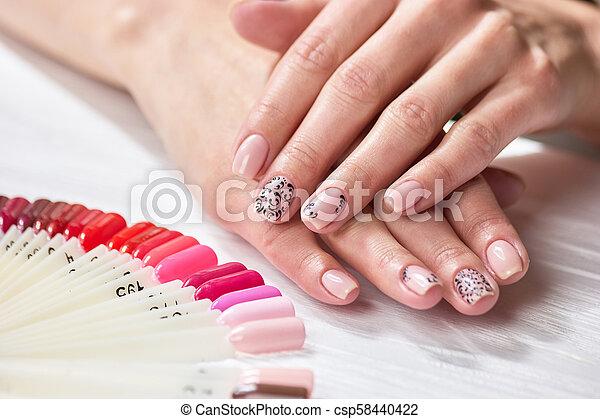 Color Niñas Natural Manicure Manos