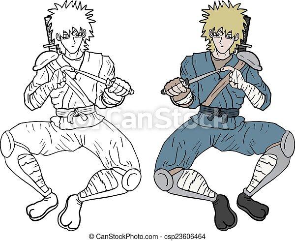 Color ninja - csp23606464