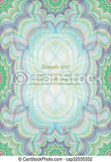Color page design background - csp32035352