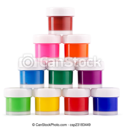 Color paints - csp23183449