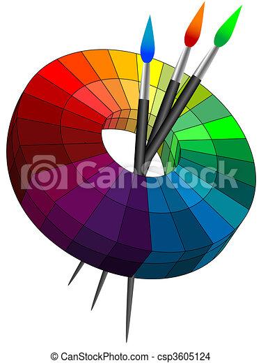 Color palette - csp3605124