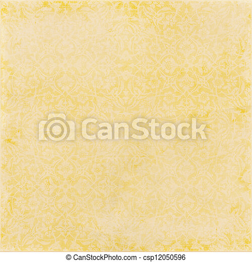 Color paper yellow - csp12050596