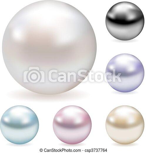 Color pearls - csp3737764
