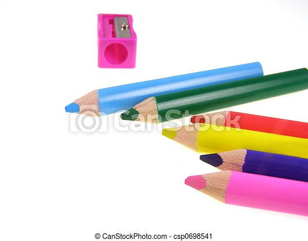 color pencils - csp0698541
