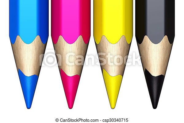 color pencils - csp30340715