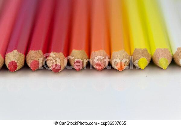 color pencils - csp36307865