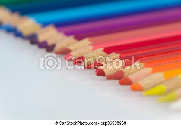 color pencils - csp36308968