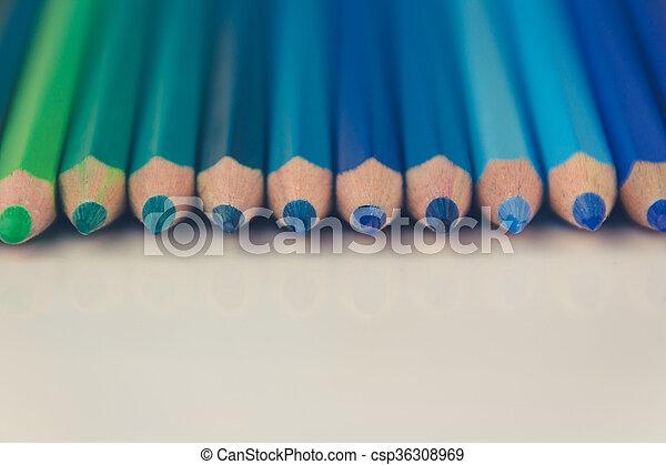 color pencils - csp36308969