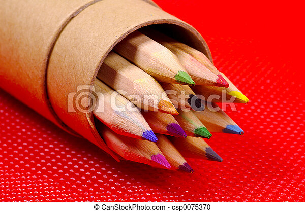 Color Pencils - csp0075370