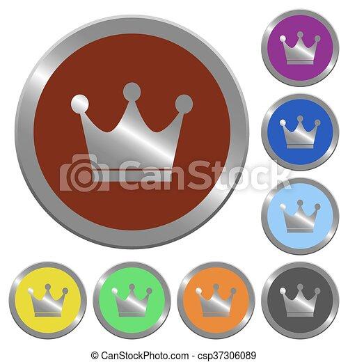 Color premium services buttons - csp37306089