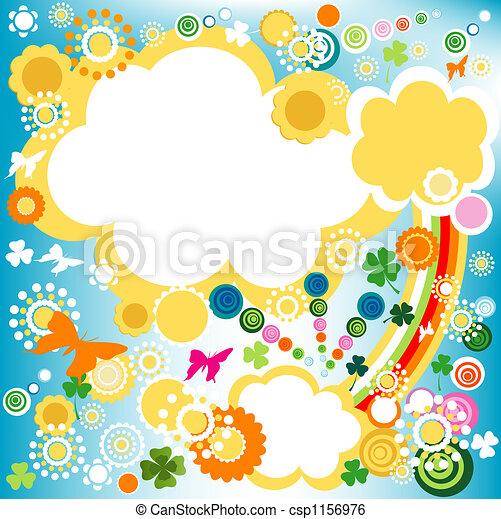 Sentimiento primaveral, color - csp1156976