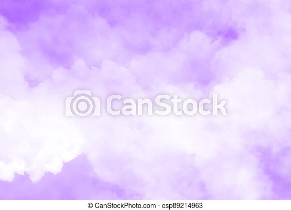 Color sky with clouds background - csp89214963