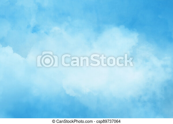 Color sky with clouds background - csp89737064
