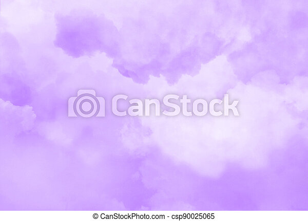 Color sky with clouds background - csp90025065