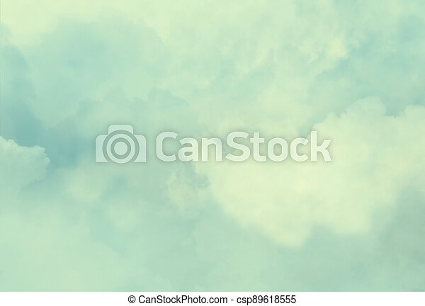 Color sky with clouds background - csp89618555
