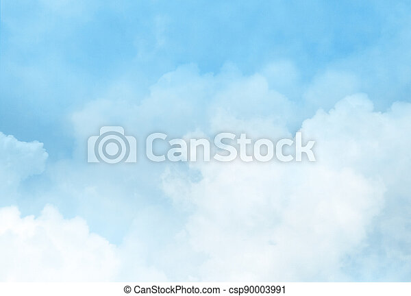 Color sky with clouds background - csp90003991