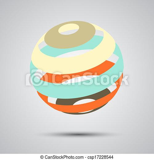 Color spheres set - csp17228544
