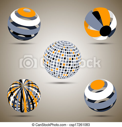 Color spheres set - csp17261083