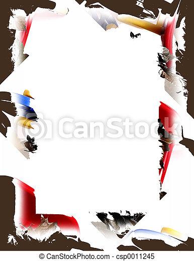 Color Splash Border - csp0011245