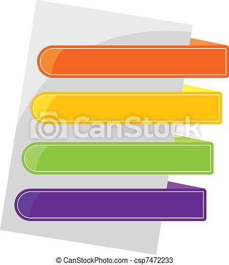 color tabs - csp7472233