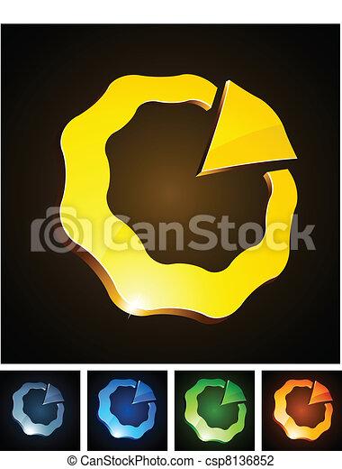 Color vibrant emblems. - csp8136852