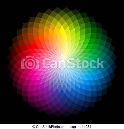 Color wheel - csp11114954