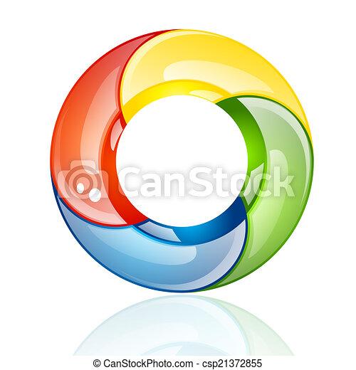 Color wheel - csp21372855