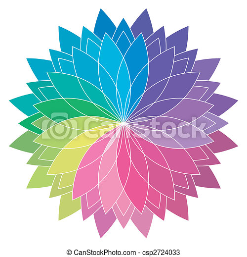 color wheel - csp2724033