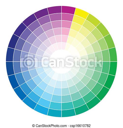 Color wheel - csp16610782