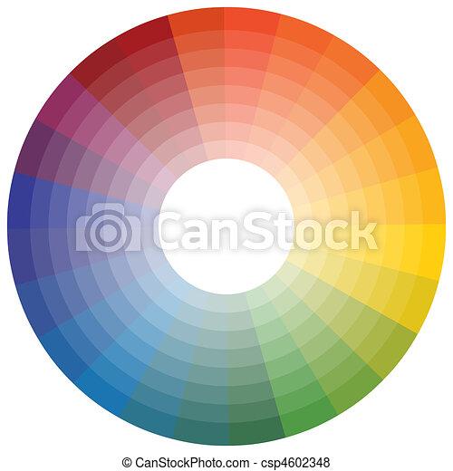 Color Wheel - csp4602348