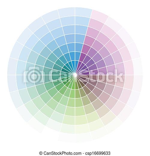Color wheel - csp16699633