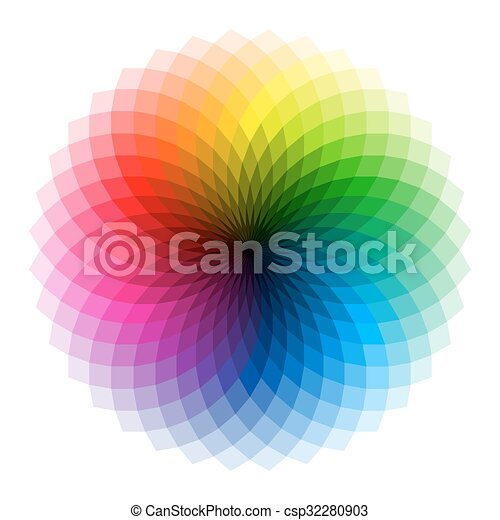 Color wheel - csp32280903