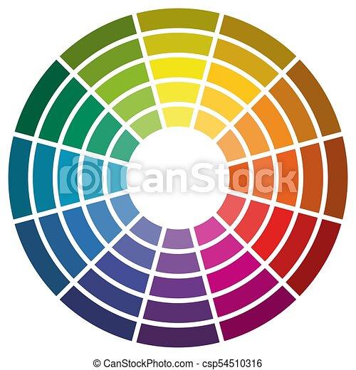 Artists Colour Wheel Mixing Colour 13.5cm