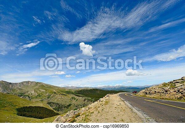Colorado Mountain Road - csp16969850
