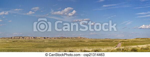Colorado prairie panorama - csp21314463