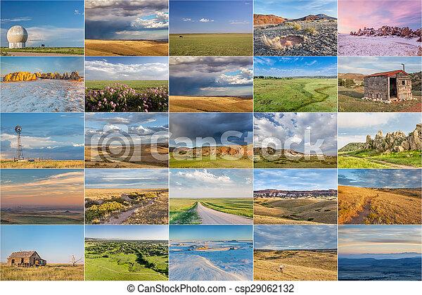 Colorado prairie picture collection - csp29062132