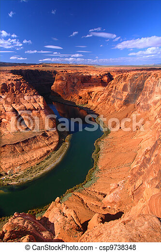 Colorado River in Arizona - csp9738348